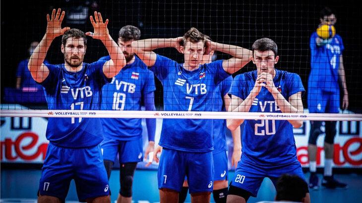 Россия завершила выступление в Лиге наций победой над Бразилией